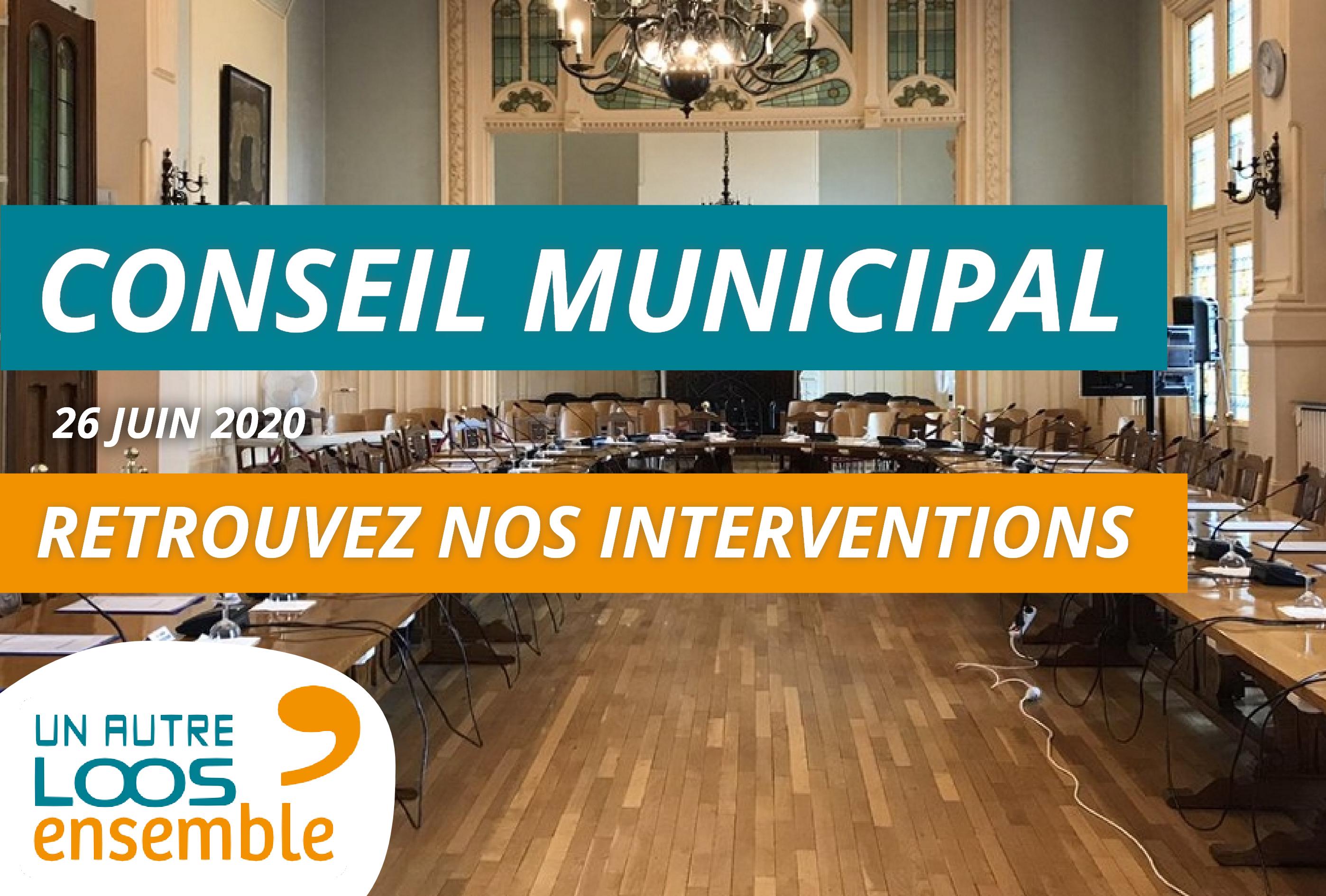 #CM du 25/06/2020 : nos interventions