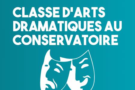 Classe d'arts dramatiques au conservatoire : une concertation ?